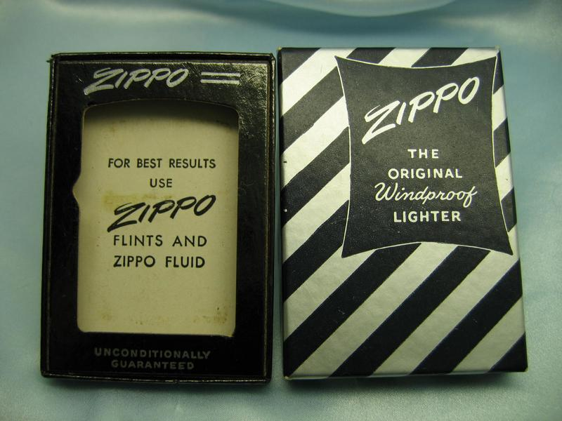 dating zippo boxes